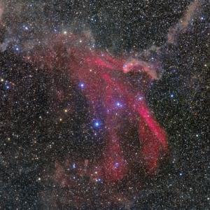 とかげ座の鷹の爪星雲