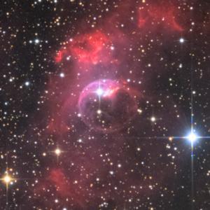 しゃぼん玉星雲