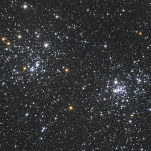 ペルセウス座の二重星団