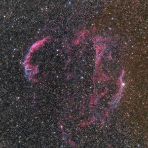 プロミナーで撮った網状星雲
