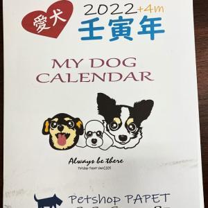 2022年愛犬月めくりカレンダー受付開始
