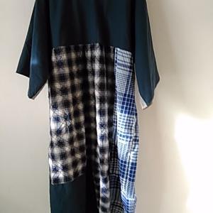 余った布で手縫いした材料費0円のワンピース