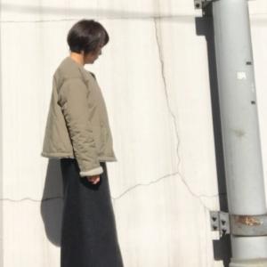 アラカン☆裏ボアジャケットとマキシスカート