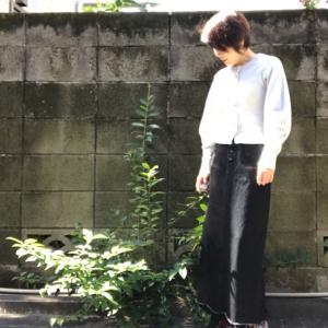 アラカン☆マキシデニムスカート