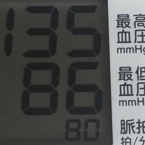 カルシウム効果なのか?血圧安定