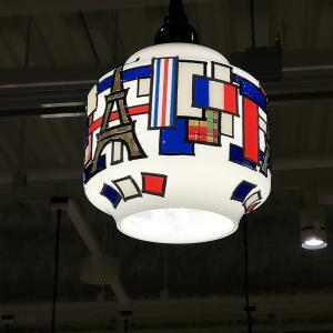 自信ないコンクールフリーデザインのランプ。
