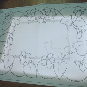 昨夜のグラスアート教室とスズメバチの威力と。