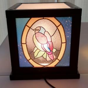 素敵過ぎる行灯が完成したグラスアート教室でした!