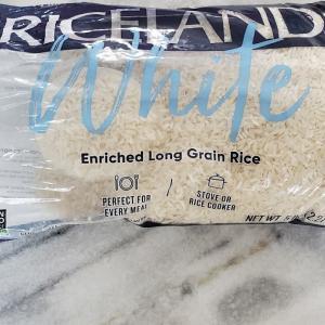アメリカ産のEnriched Long Grain Riceを買ってみました