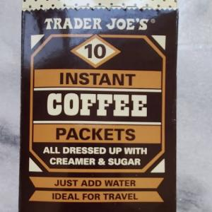 トレーダージョーズの個包装のインスタントコーヒー