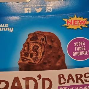Load'd Bars ブラウニーが入ったチョコレートアイスバー