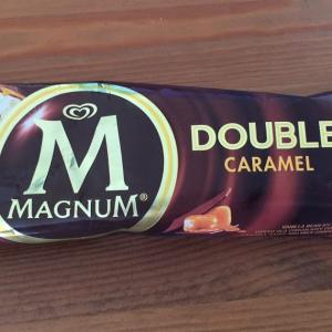 MAGNUM DOUBLE CARAMEL(単品売りのアイス)