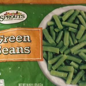 冷凍インゲン豆