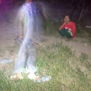 心霊写真:タイの警察が死体から魂が抜ける瞬間を激写