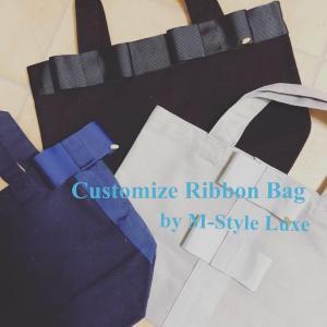 new!Customize RibbonBag