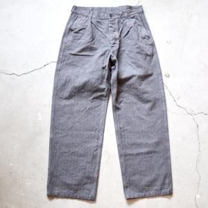 【ARMEN】ONE TUCK PANTS