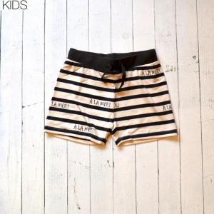 【mini rodini KIDS】A la mer HALF PANTS