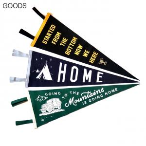 【Oxford PENNANT GOODS】WOOL PENNANT
