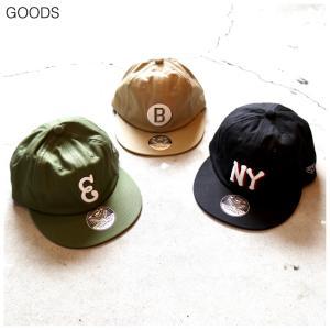 【EBBETS FIELD FLANNELS GOODS】BCI 2COL EMB LOGO CAP