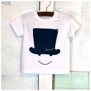 【BOHEMIANS KIDS】LOVE&SMILE SS  KIDS  TEE