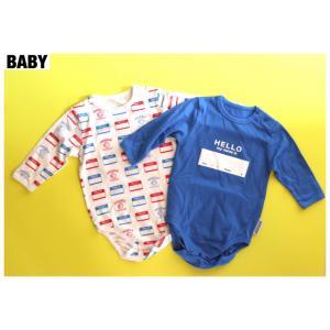 【DRIBBLE BABY】LONGSLEEVE ロンパース
