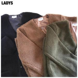 【ARMEN WORKWEAR LADYS】VNECK FRONTSNAP  COAT