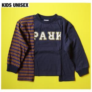 【THE PARK SHOP KIDS UNISEX】BROKEN  PARK LONGSLEEVE  TEE
