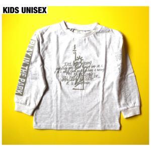 【THE PARK SHOP KIDS UNISEX】LIBERTY BOY LONGSLEEVE  TEE