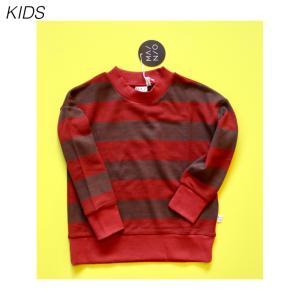 【MAINIO KIDS】Field knit ,paprika/cinnamon