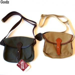 【QUALITY GUNSLIPS GOODS】HEAVY DRILL DINKY BAG