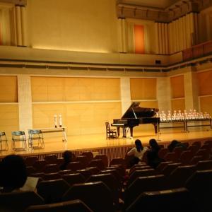 グレンツェンピアノコンクール本選。