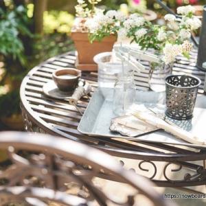 【お庭改造計画】我々には癒しが必要である!ということでアンティークなアイアンガーデンテーブル&チェアを買いました