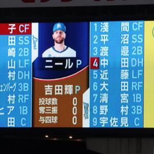11.4メットライフドーム 西武対日本ハム 112 28 48