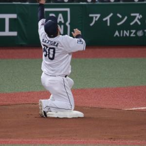 4.27 メットライフドーム 西武対ロッテ 108 9 33