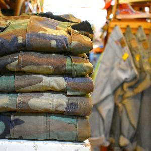 【Vintage Battle Dress Uniform】ビンテージBDU米軍実物放出品入荷~