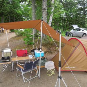 今年の初キャンプは朱鞠内湖