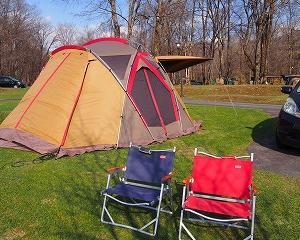今年の初キャンプは沙流川オート