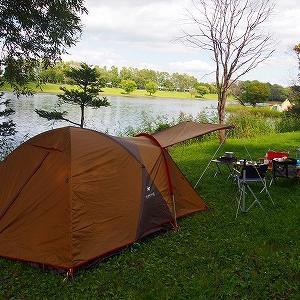 今月始めのキャンプは、ほぼホームグラウンドになりつつある皆楽公園キャンプ場です