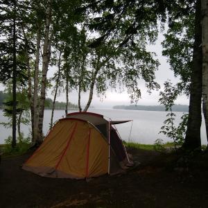 今シーズン始めのキャンプは、お気に入りのあそこで。