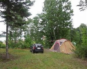 今年のお盆休みも朱鞠内湖畔キャンプ場です(パート1)