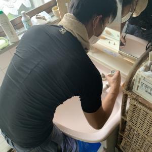 【豊中市】洗面台の混合水栓を交換させていただきました!
