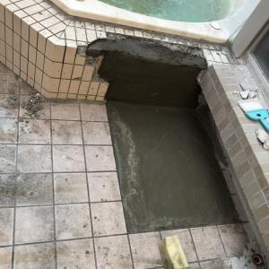 【大阪市】露天風呂ジャグジーの漏水を復旧いたしました!