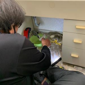 【伊丹市】洗面台の配管を交換させていただきました!