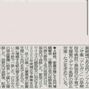 県による緊急事態措置初日