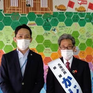 丸亀市長選挙応援