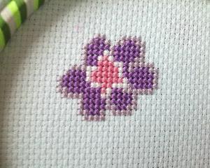 フェリシモ【雅な模様をゆったり味わう和柄のクロスステッチの会】#1水辺の花