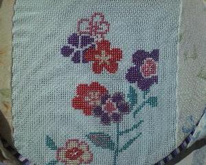 フェリシモ【雅な模様をゆったり味わう和柄のクロスステッチの会】#1水辺の花(3)