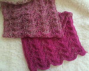 katiaのSpringRainbowで編んでます。