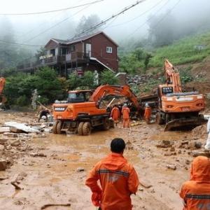 【韓国洪水】旦那からの衝撃的なバスの運転動画