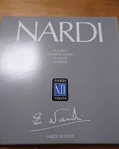 NARDI 330パイ ステアリング